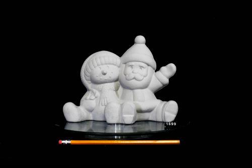 Santa & Snowman Buddies