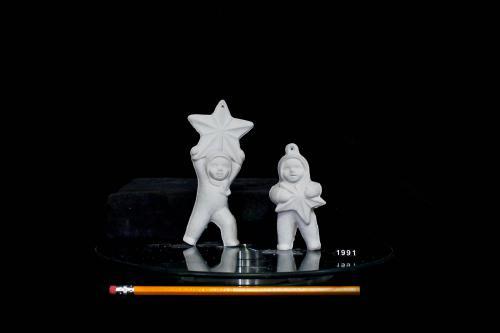 Snow Babies with Stars