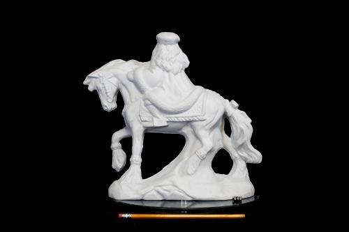 Russian Santa on Horse